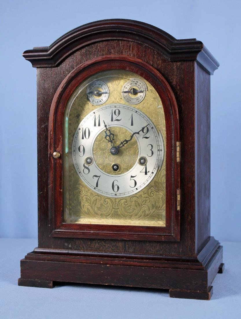 "Jughans ""Astor"" 1/4th Hour Westminster Chime Clock"