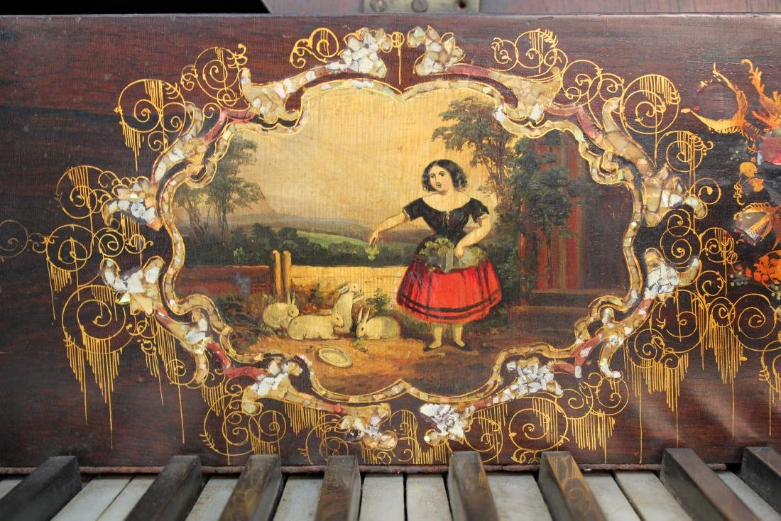 Smith and Atherton Rosewood Grand Piano C. 1860 - 4