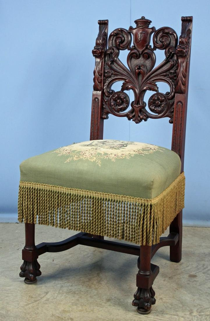 Eight Mahogany Dining Chairs Attrib. R.J. Horner - 10