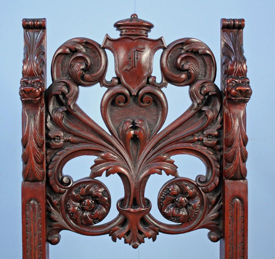 Eight Mahogany Dining Chairs Attrib. R.J. Horner - 11