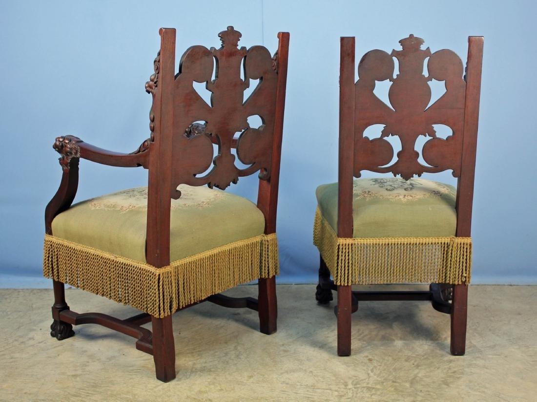 Eight Mahogany Dining Chairs Attrib. R.J. Horner - 13