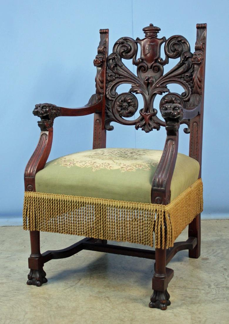 Eight Mahogany Dining Chairs Attrib. R.J. Horner - 3