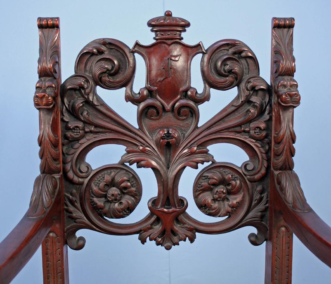 Eight Mahogany Dining Chairs Attrib. R.J. Horner - 5