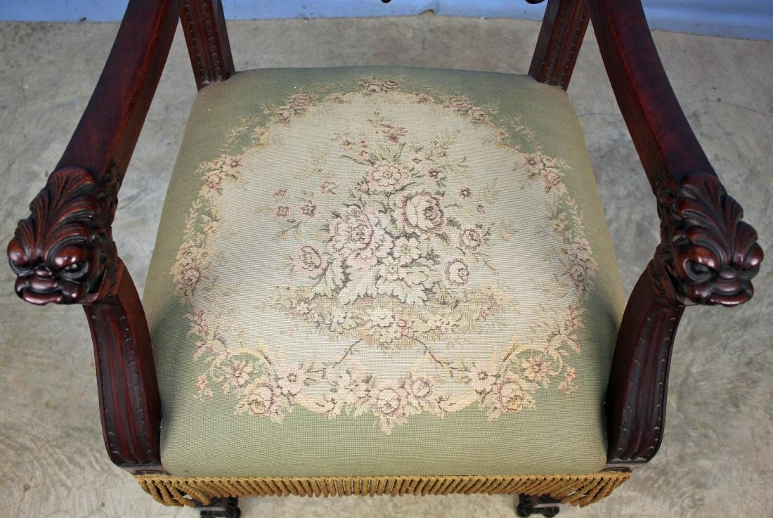 Eight Mahogany Dining Chairs Attrib. R.J. Horner - 9