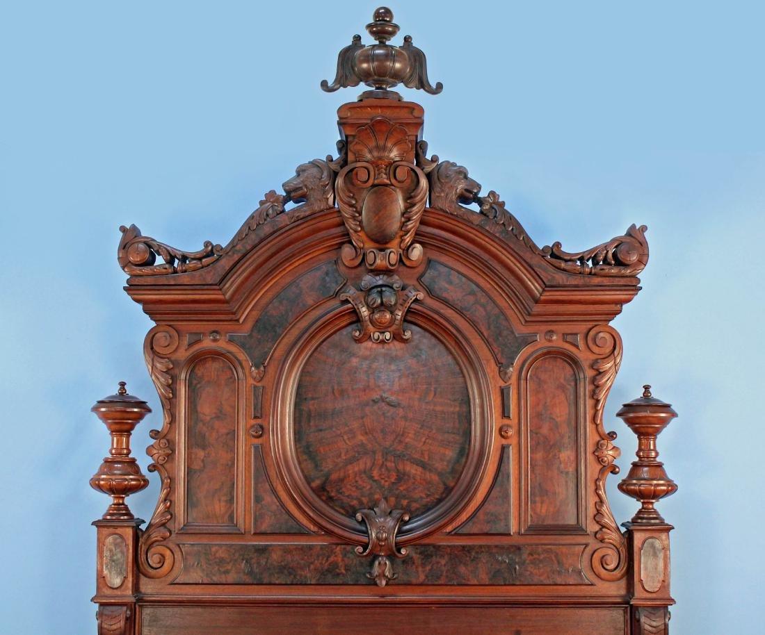 Two Pcs Renaissance Bedroom Set att. T. Brooks - 5