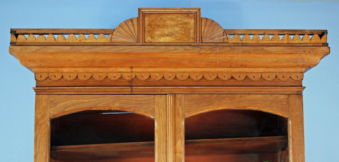 Walnut Victorian Cylinder Roll Desk - 3