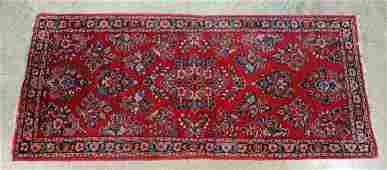 "Persian Polychrome Prayer Runner Rug 2'1"" X 4'10"