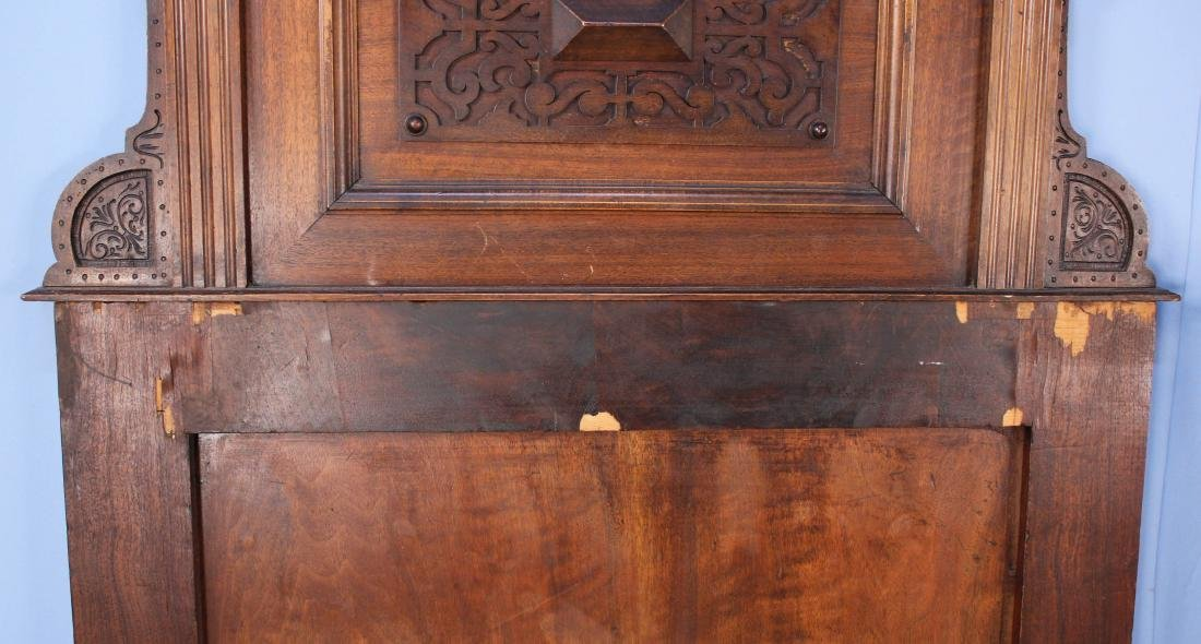 A Pair of Elizabethan Style Walnut Twin Beds - 6
