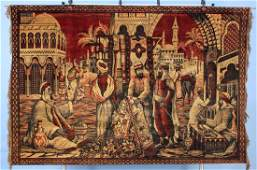 An Orientalist Style Machine Made Tapestry  C1920