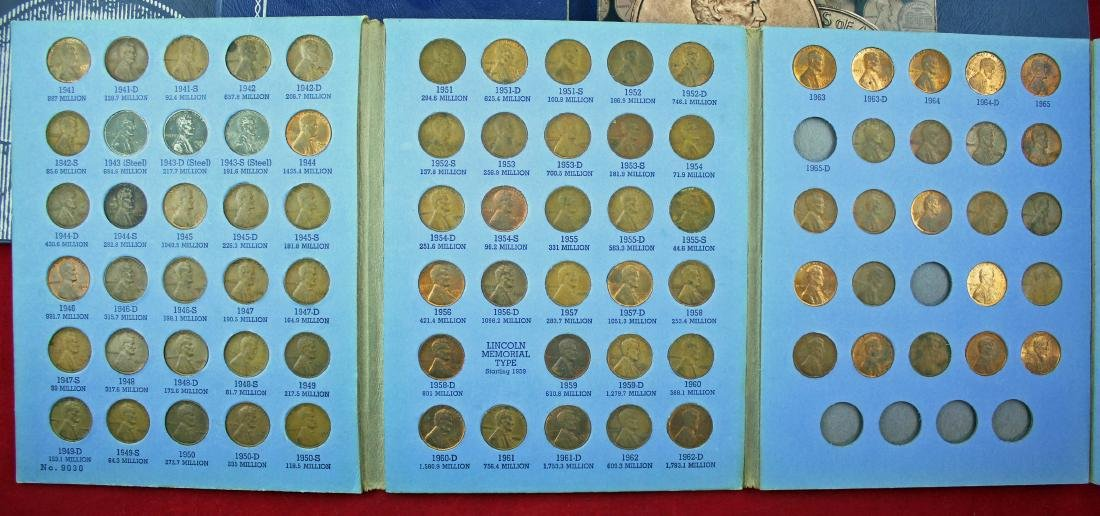 10 Penny Books 1909 - 2013, w/ Nickel and Canada - 4
