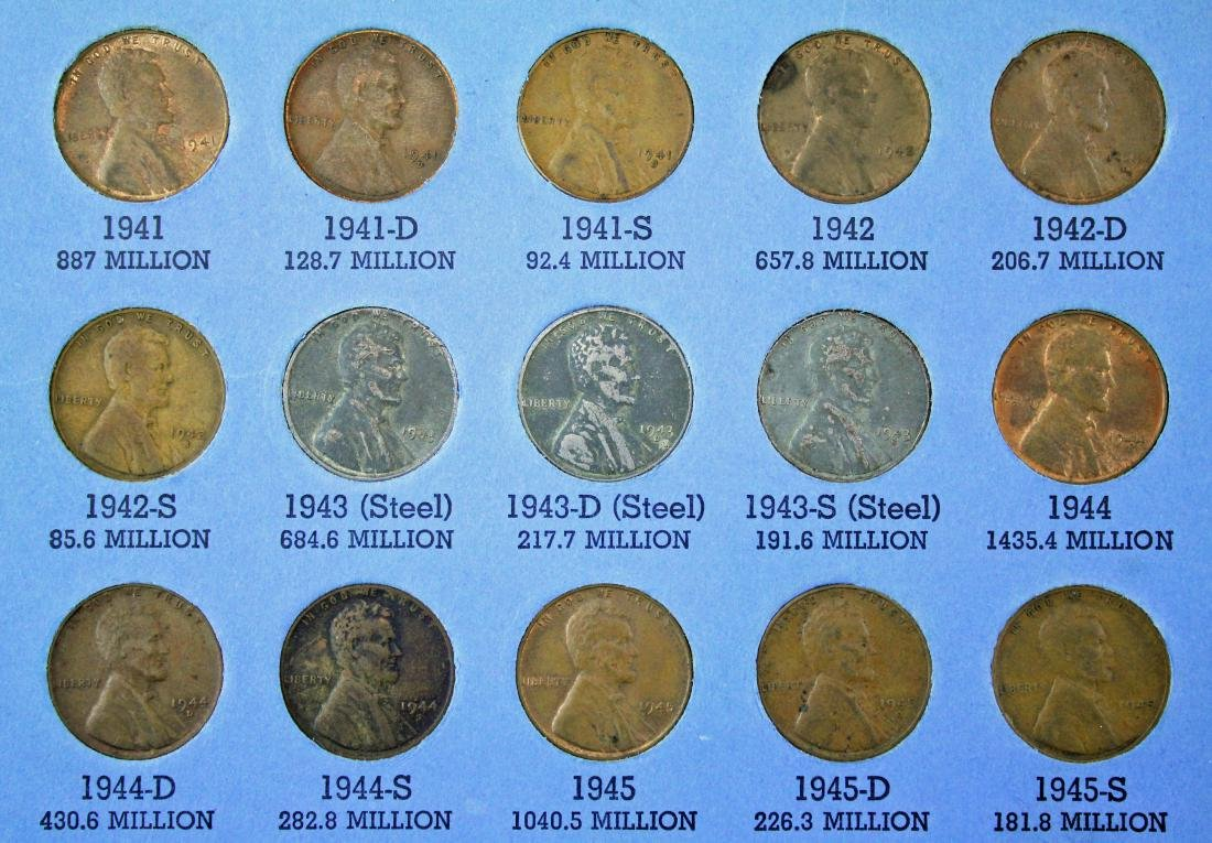 10 Penny Books 1909 - 2013, w/ Nickel and Canada - 5