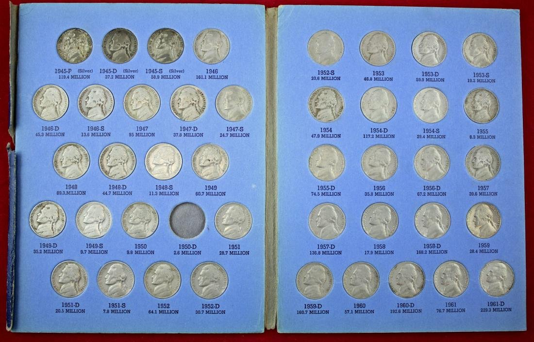 10 Penny Books 1909 - 2013, w/ Nickel and Canada - 9
