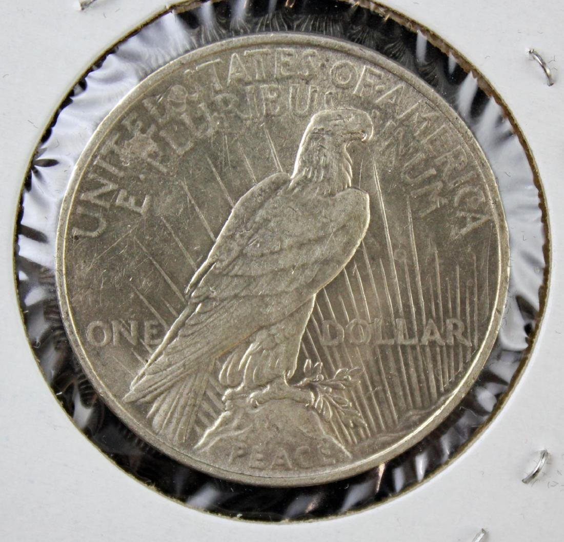 6 Peace Silver Dollars P & S Mint Marks 1922 - 23 - 3