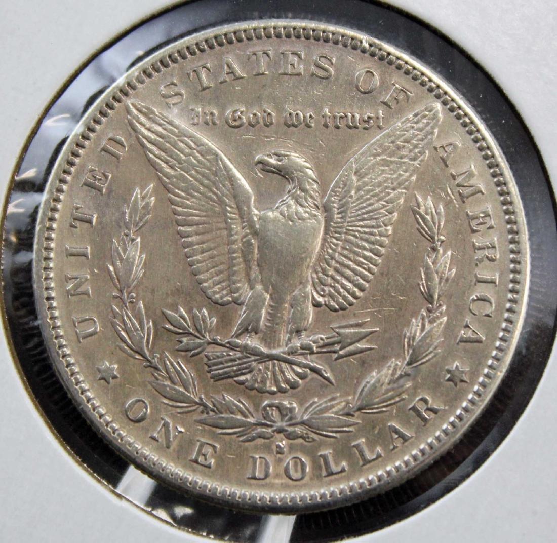 1888 S Morgan Silver Dollar Error Coin - 3