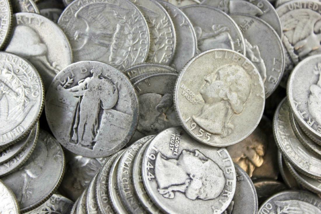 300 Washington & Standing Liberty Quarters 90% - 2