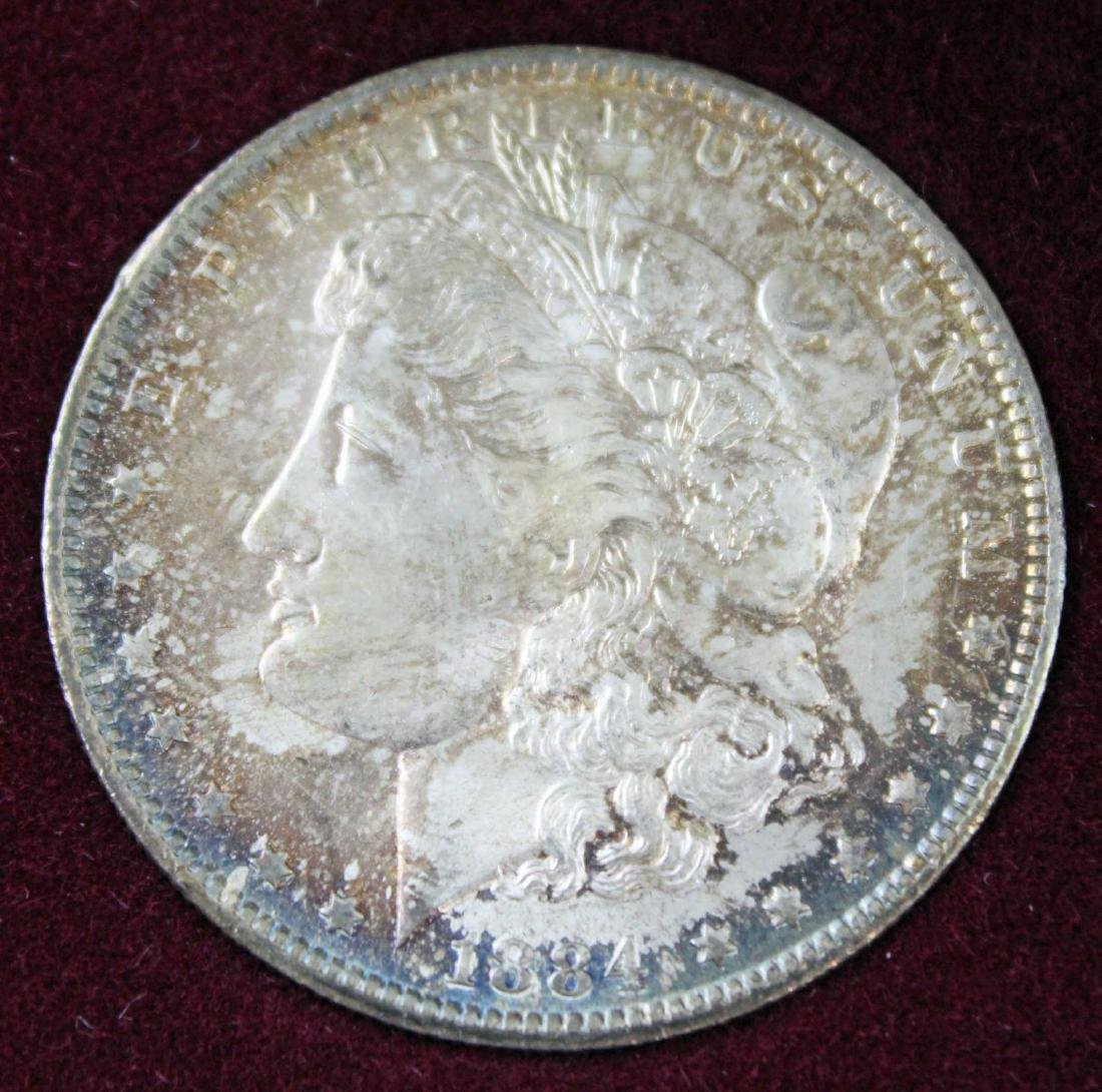 New Orleans Morgan Dollar Set 1884, 1885 & 1898 - 2