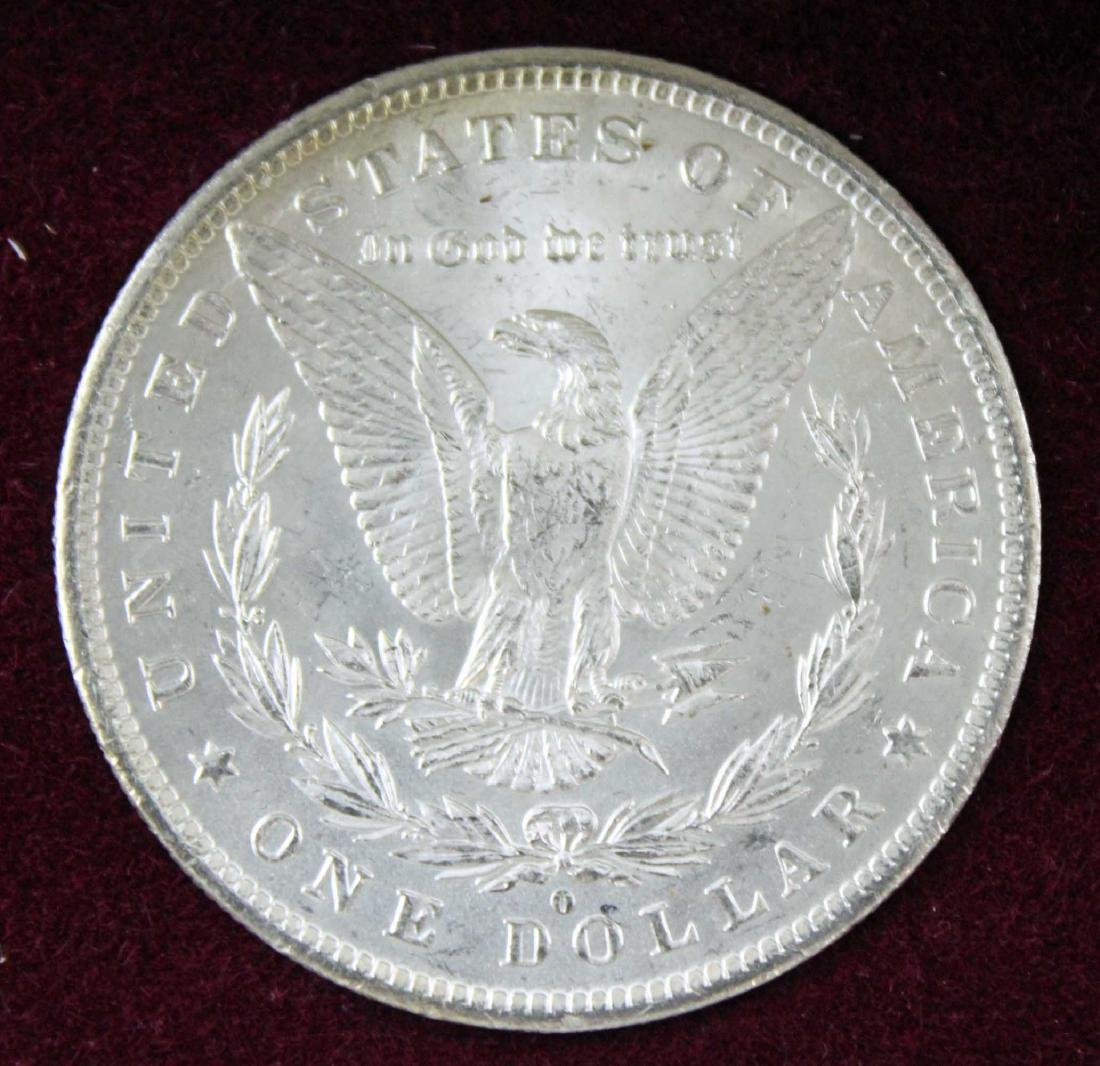 New Orleans Morgan Dollar Set 1884, 1885 & 1898 - 3