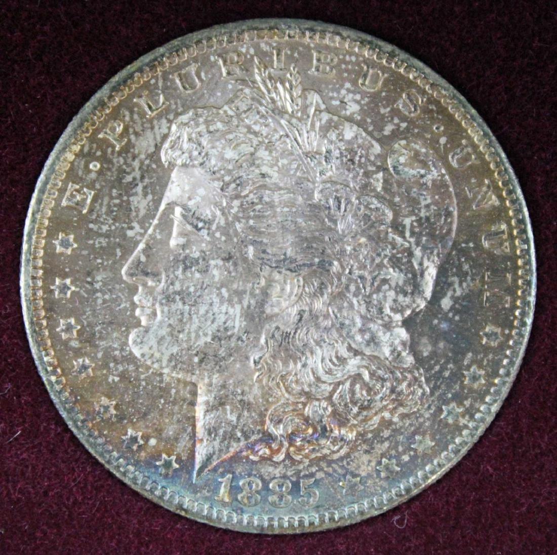 New Orleans Morgan Dollar Set 1884, 1885 & 1898 - 4