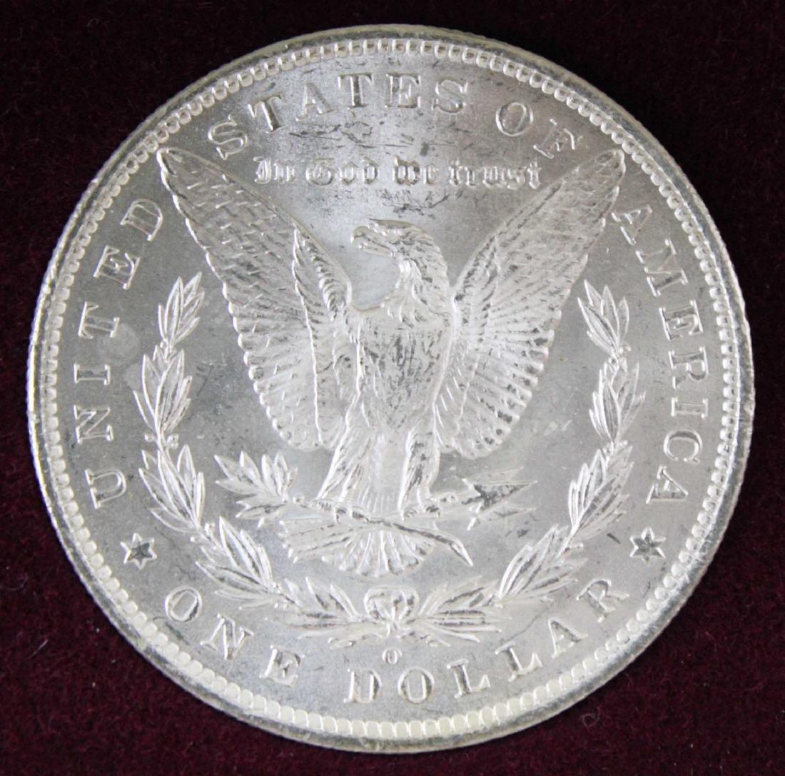 New Orleans Morgan Dollar Set 1884, 1885 & 1898 - 5