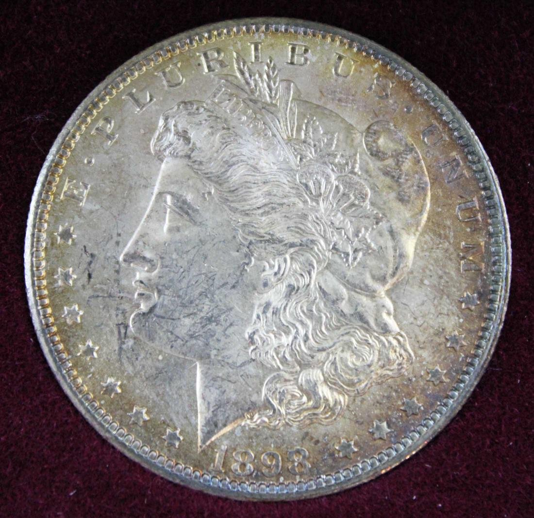 New Orleans Morgan Dollar Set 1884, 1885 & 1898 - 6