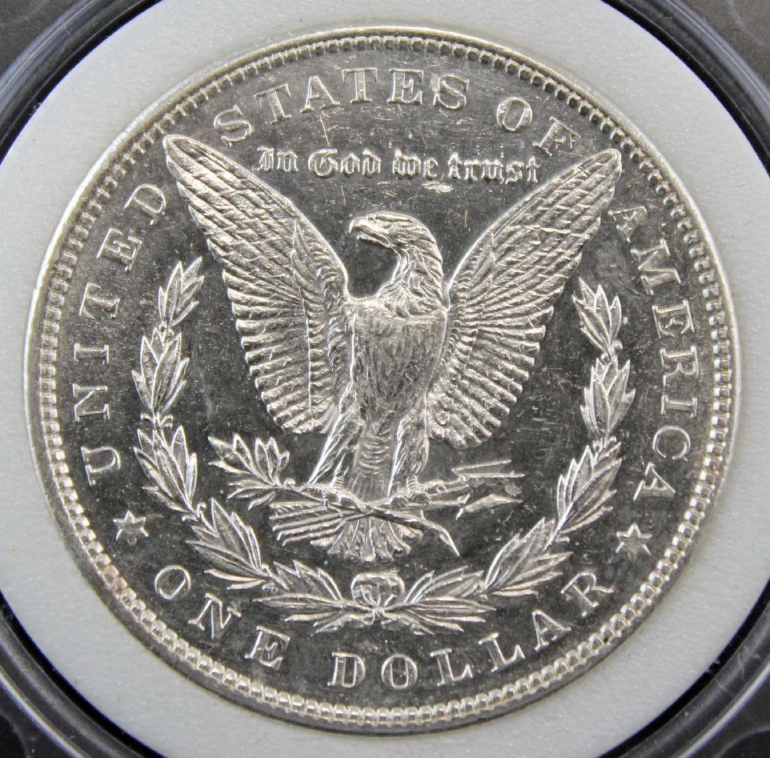 1897 Morgan Silver Dollar NAC Graded MS66 - 4