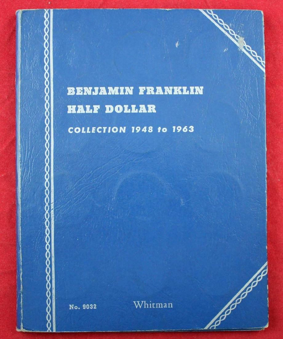 Ben Franklin Silver Half Dollar Album 1948 - 1963 - 5