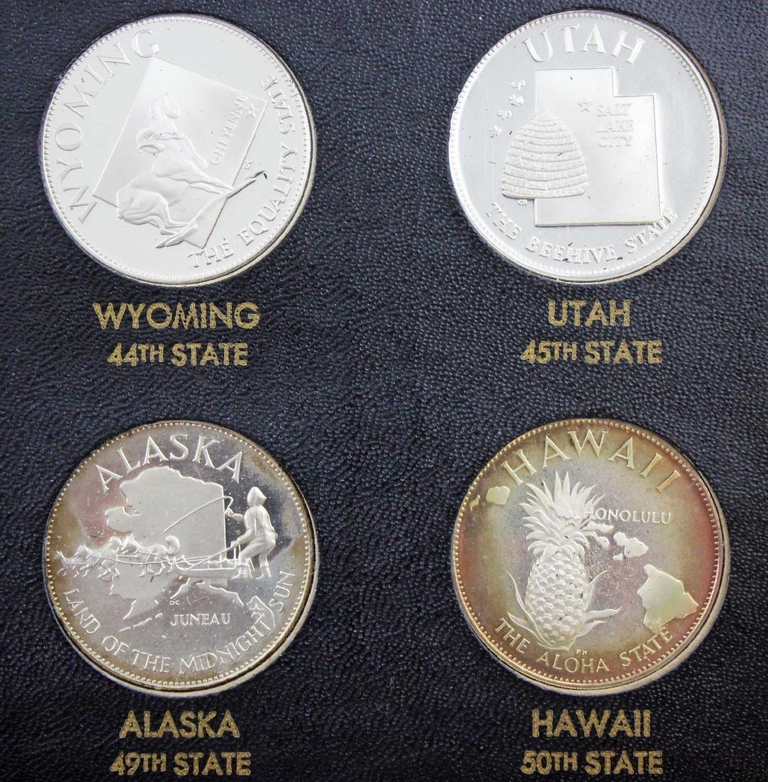 Franklin Mint 50 States Proof Set   22.5 Troy Oz. - 5