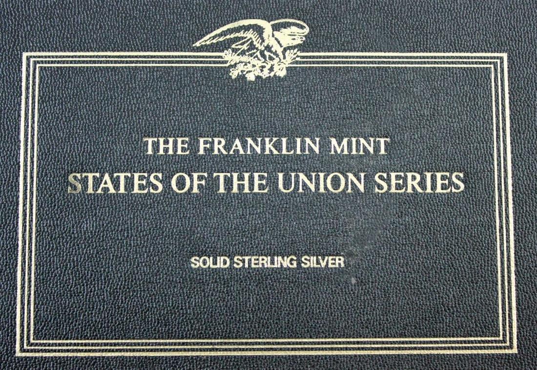 Franklin Mint 50 States Proof Set   22.5 Troy Oz. - 6