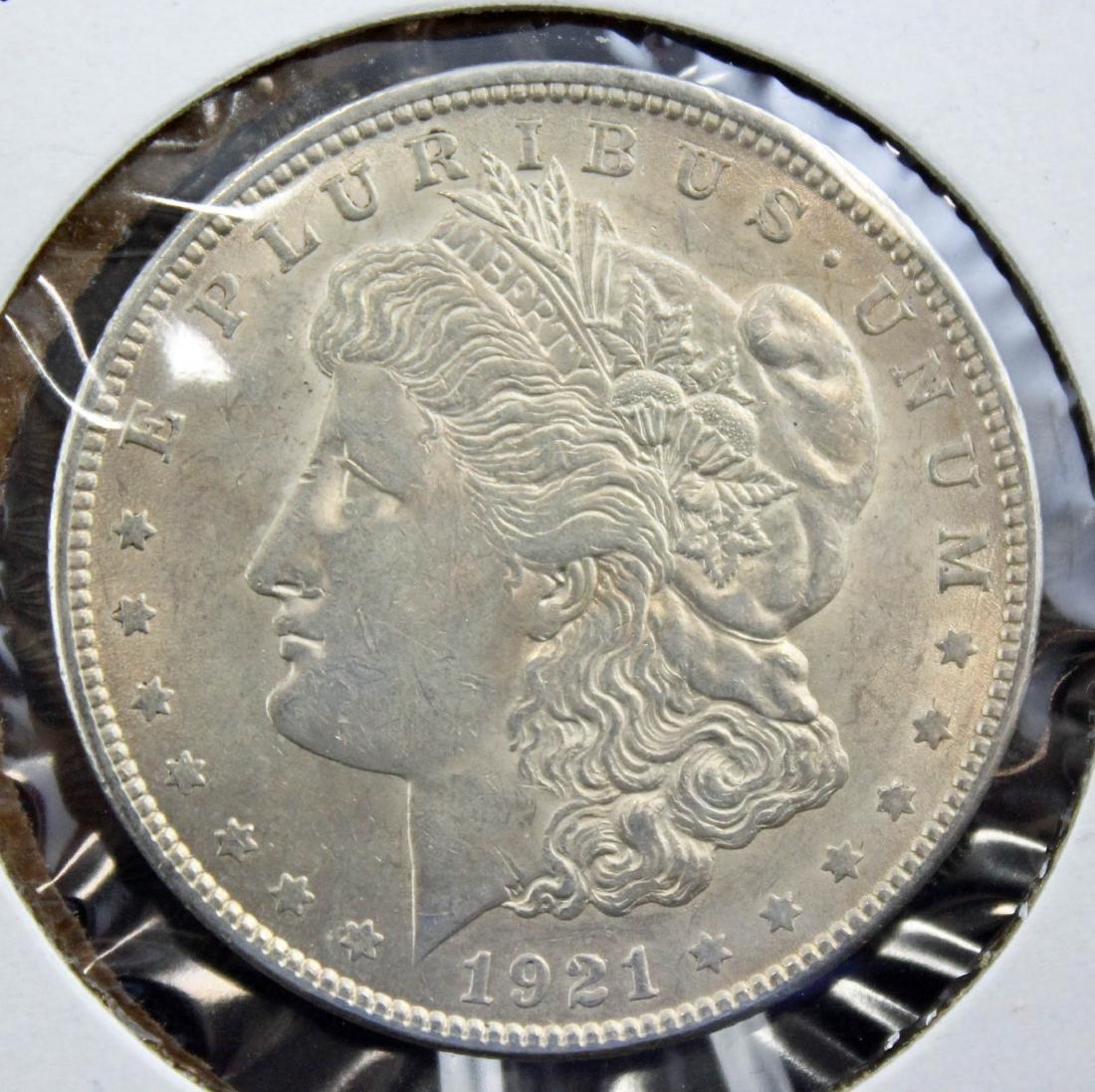 3 -1921 Morgan Dollars 2-1921 P & D MS64 w/ Errors - 5
