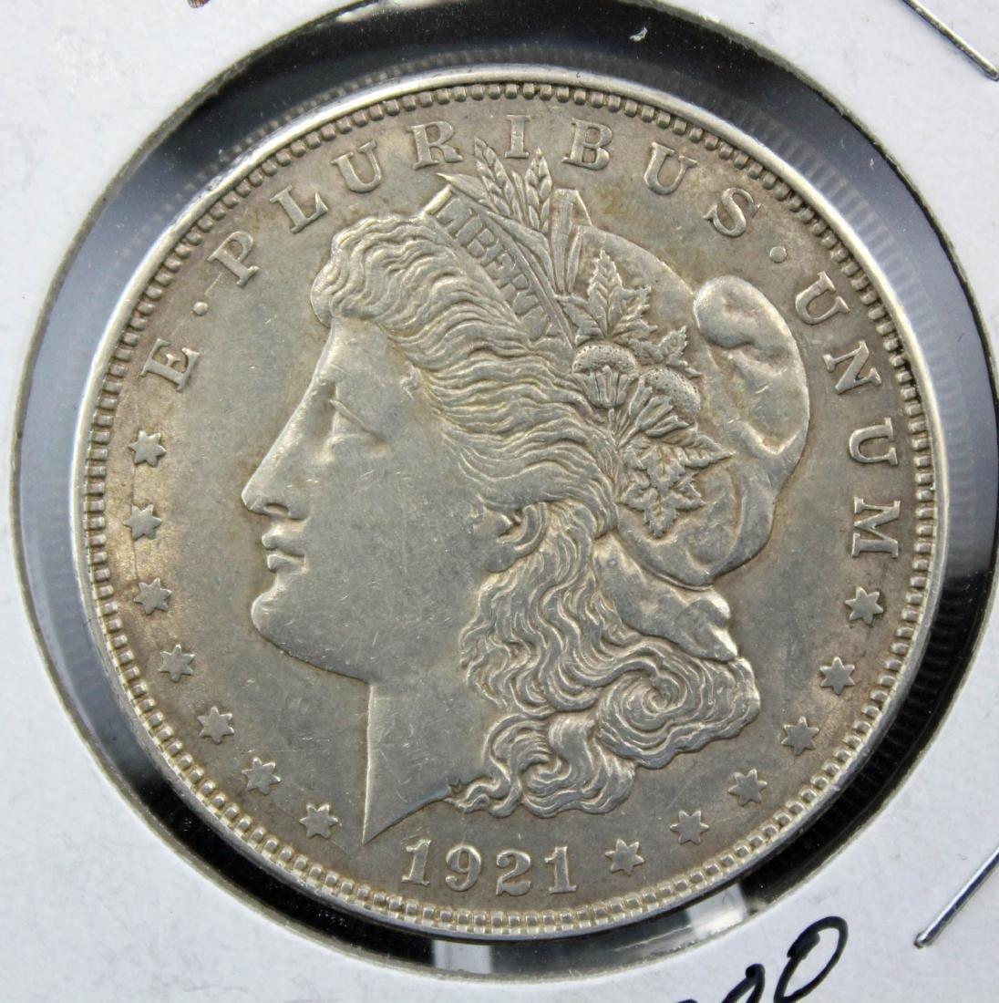 3 -1921 Morgan Dollars 2-1921 P & D MS64 w/ Errors - 7