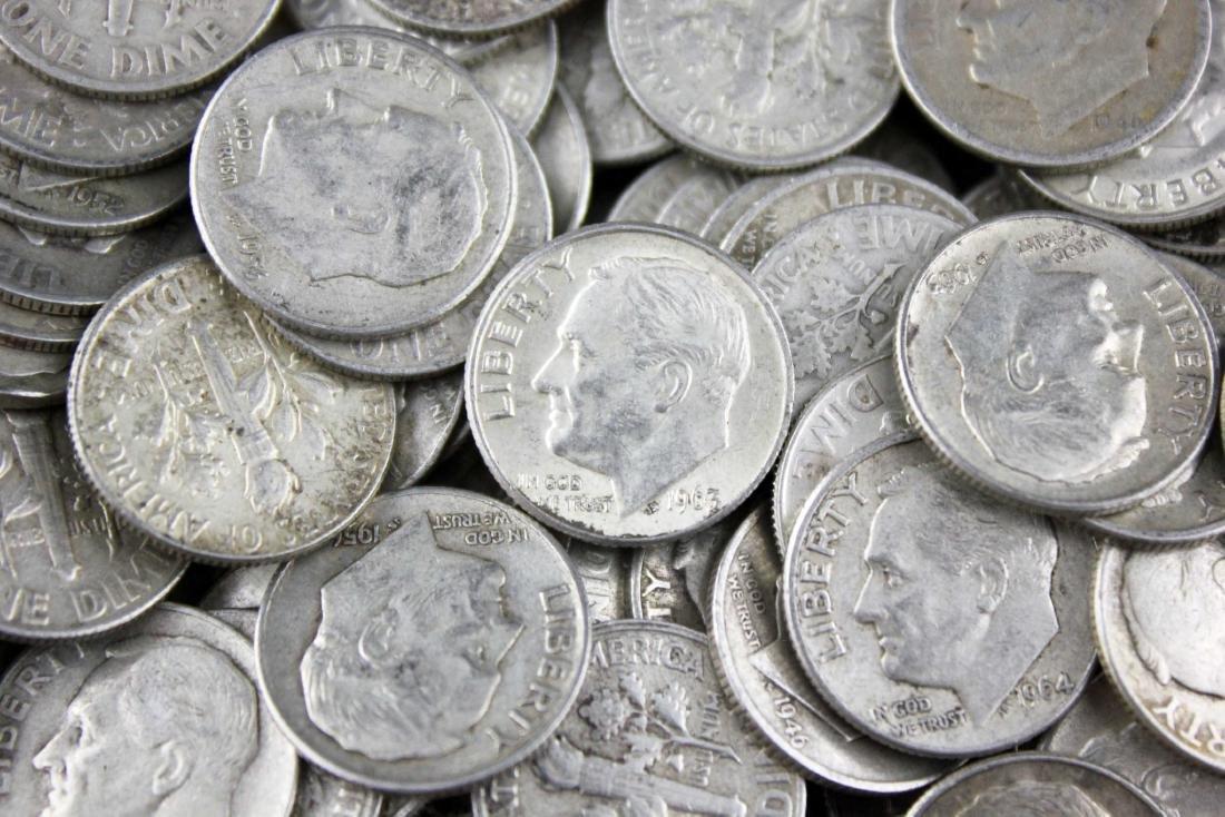 400 Roosevelt Dimes 90% Silver - 2