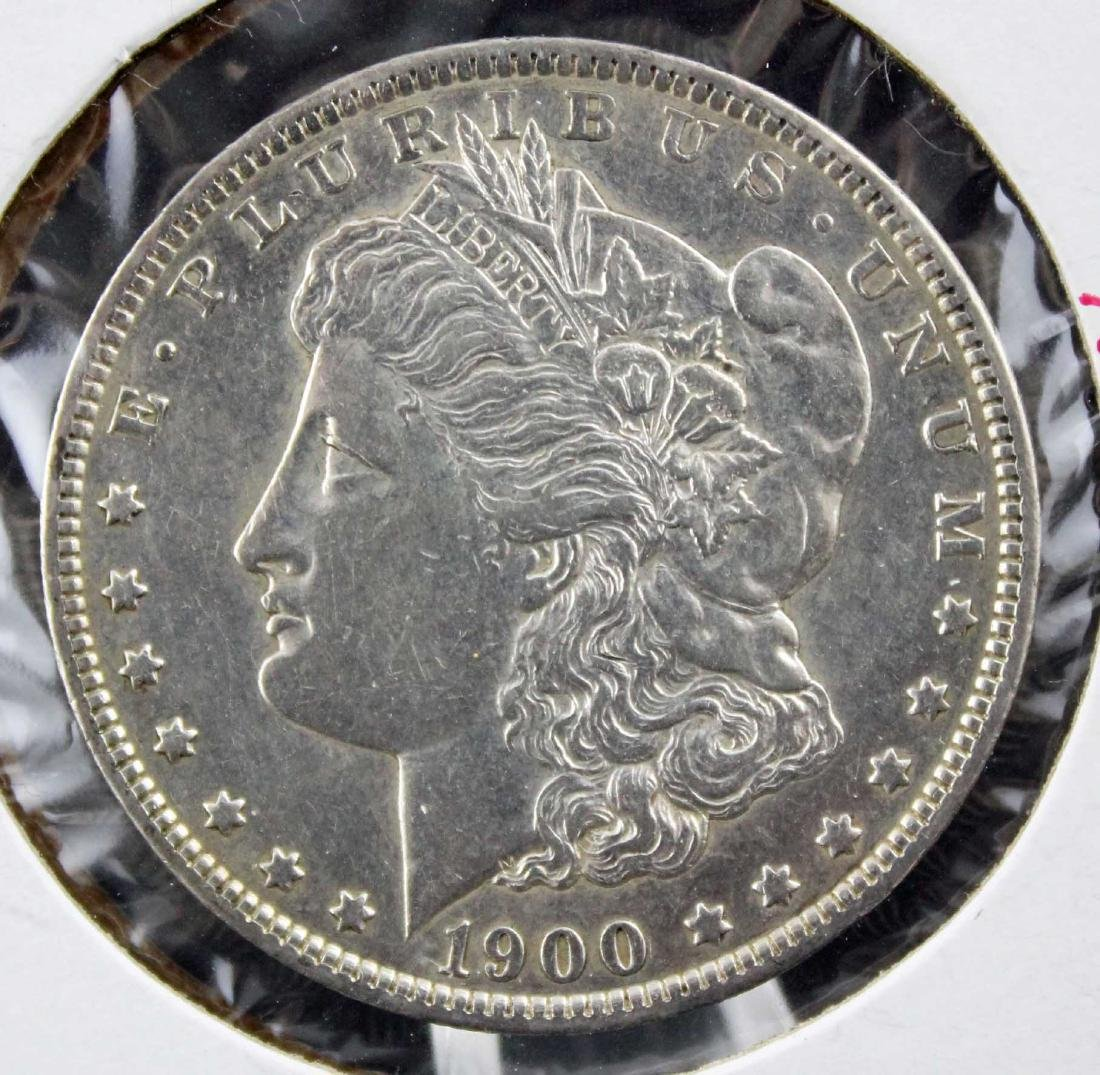 Three Morgan Silver Dollars 1886 - 1900 Errors Etc - 2