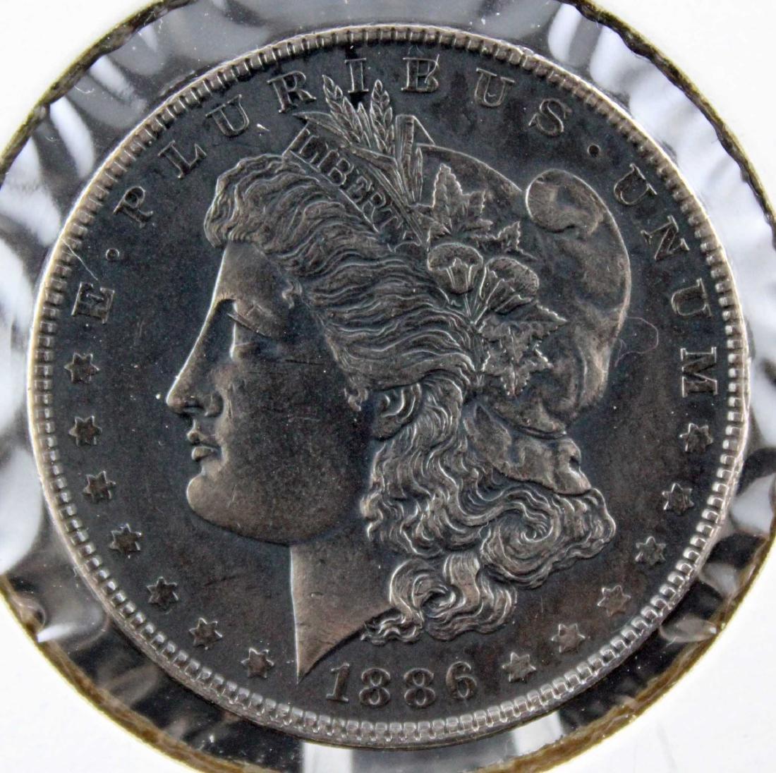 Three Morgan Silver Dollars 1886 - 1900 Errors Etc - 6