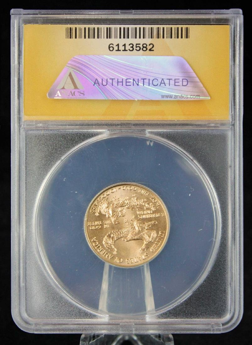 1998 $10 1/4 Troy Oz. Gold Eagle ANACS MS 68 - 3