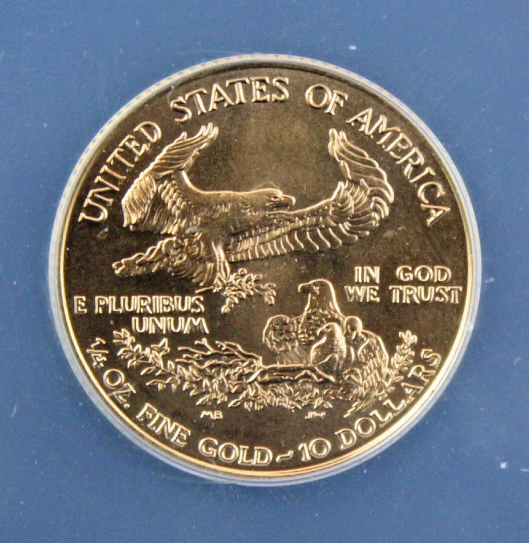 1998 $10 1/4 Troy Oz. Gold Eagle ANACS MS 68 - 4