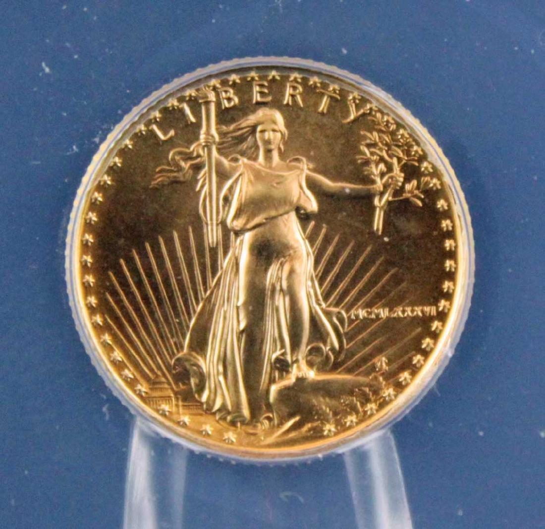 1986 $5 1/10 Troy Oz. Gold Eagle ANACS MS 70 - 2