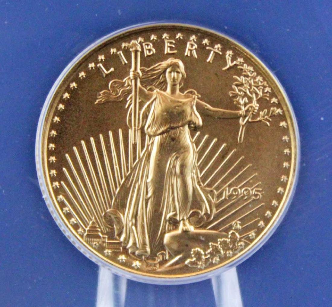 1995 $10 1/4 Troy Oz. Gold Eagle ANACS MS 68 - 2