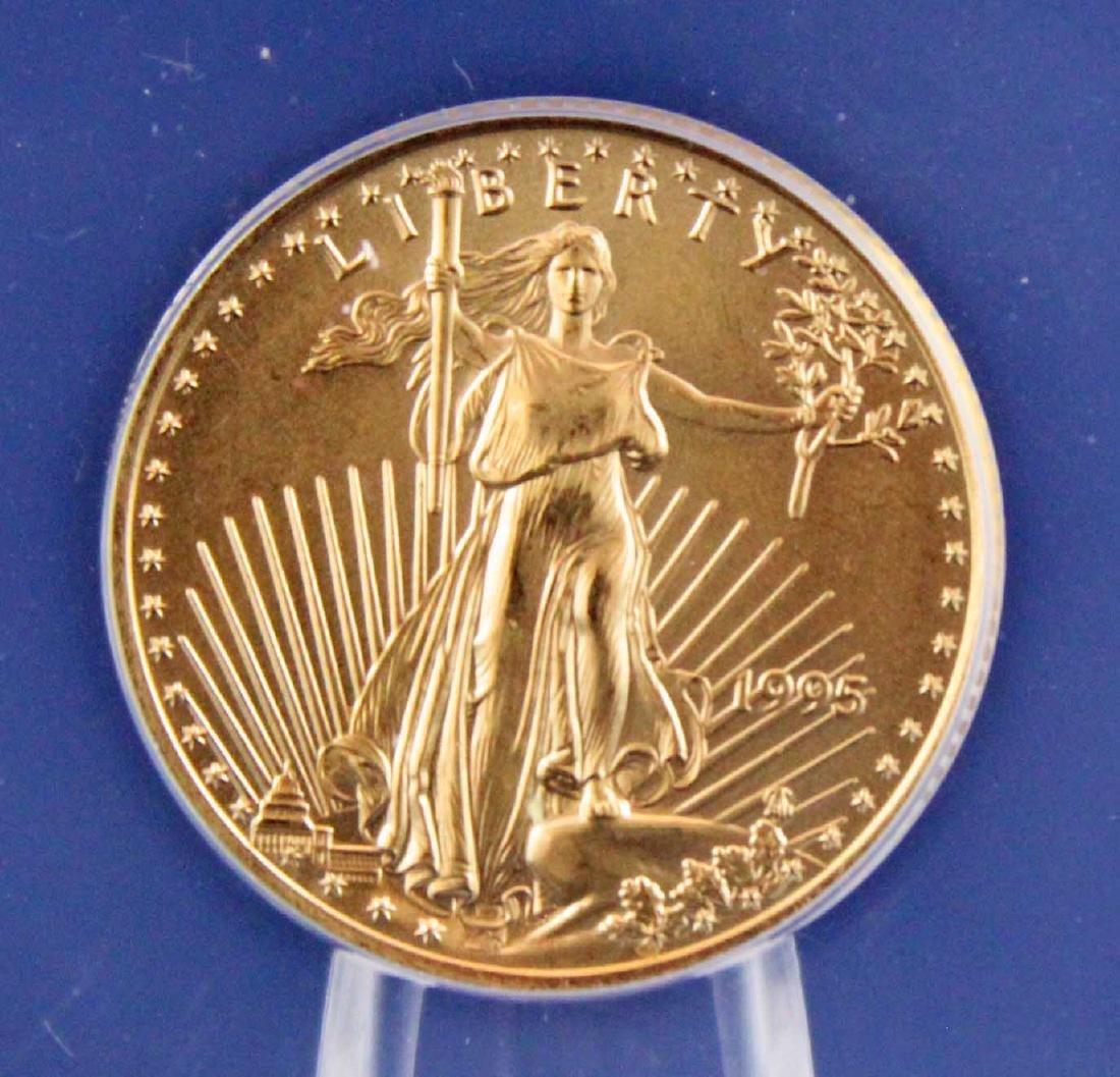1995 $10 1/4 Troy Oz. Gold Eagle ANACS MS 68 - 2