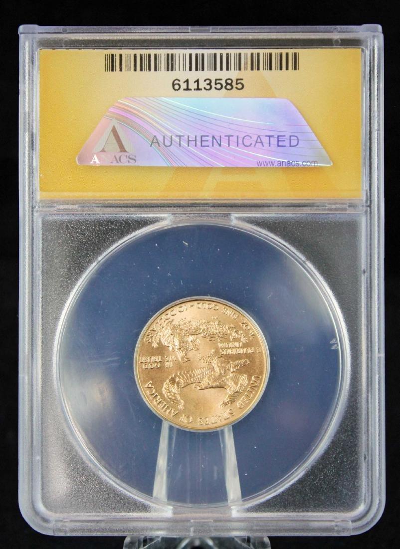 1998 $10 1/4 Troy Oz. Gold Eagle ANACS MS 67 - 3