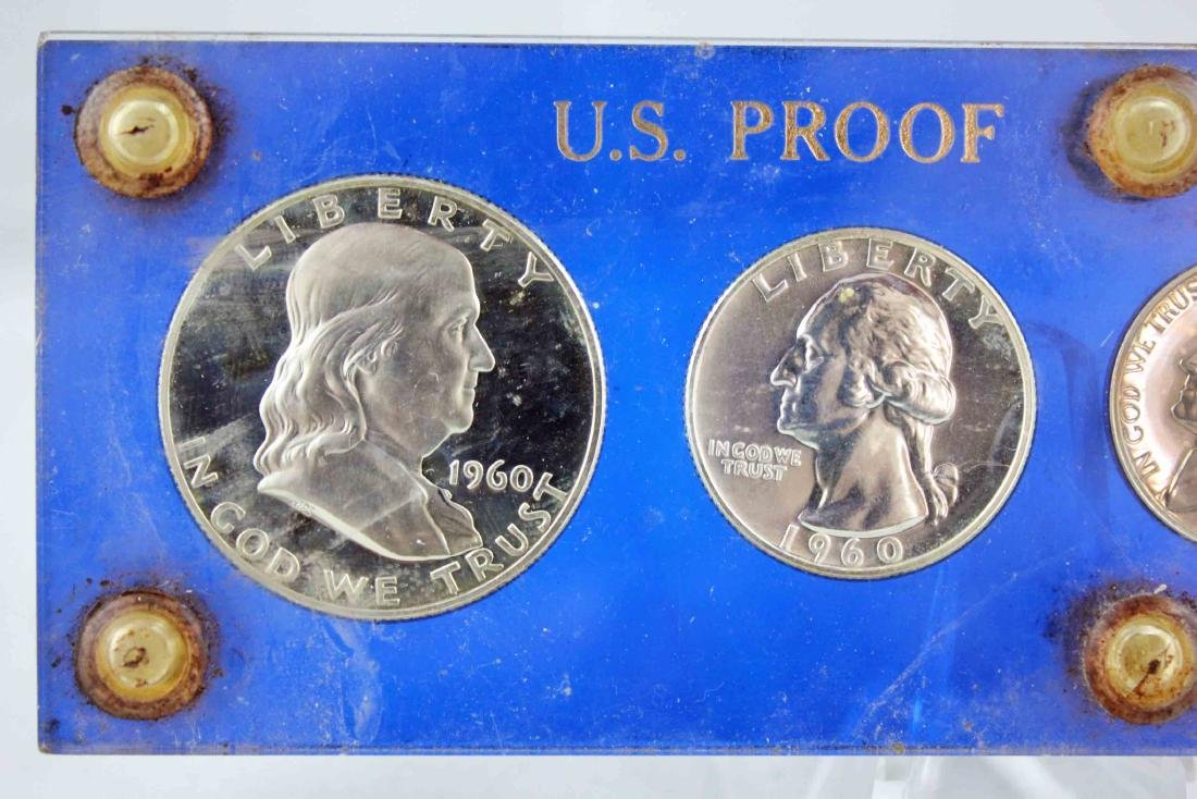 1960 & 64 Proof Sets with 1956 Unc. US Coin Set - 2