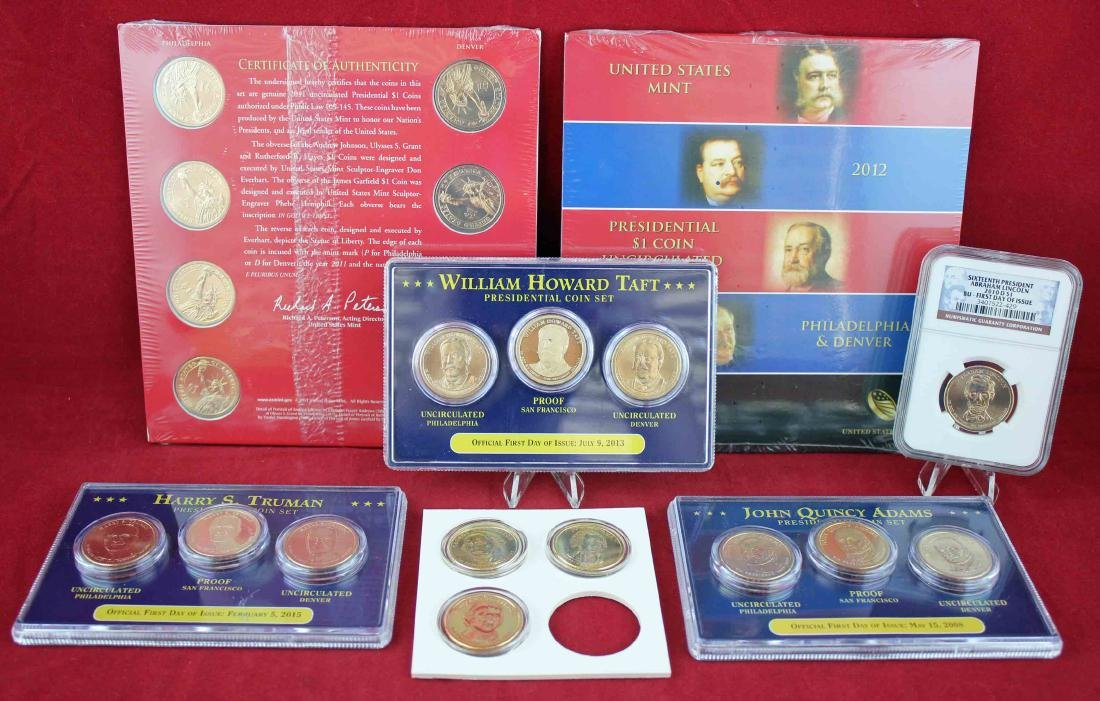29 United States Mint P,D & S  Presidential Coins