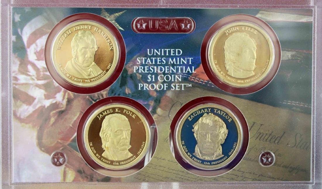 Seven U.S. Mint Proof Sets 2008 - 2013 Face $48.93 - 2