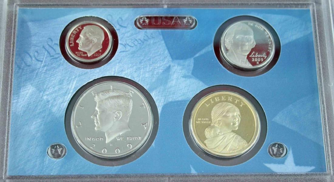 Seven U.S. Mint Proof Sets 2008 - 2013 Face $48.93 - 3