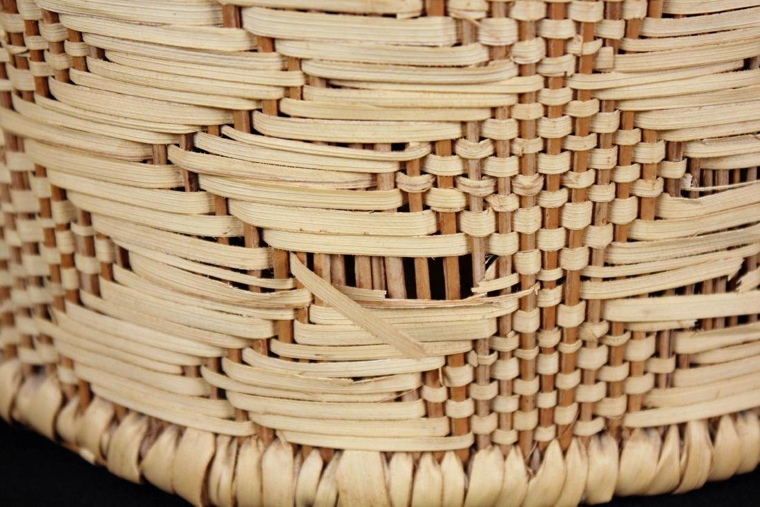 3 Indian Baskets Incl. 2 Choctaw Indian River Cane - 5