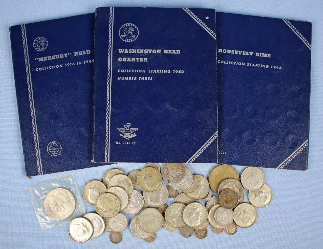 Group of U.S. & Foreign Silver Coins