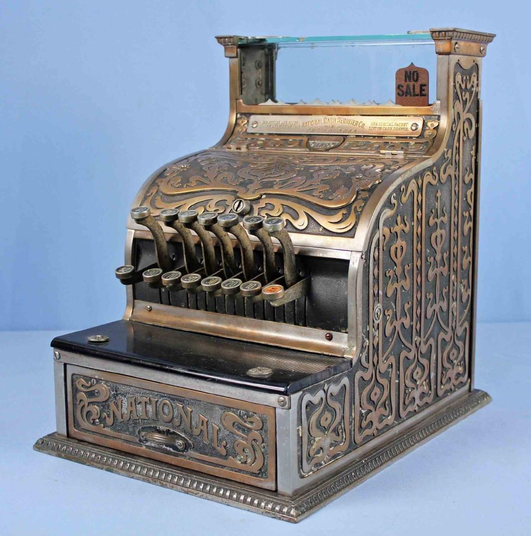 Brass National Cash Register Mo. 130, Candy/Barber