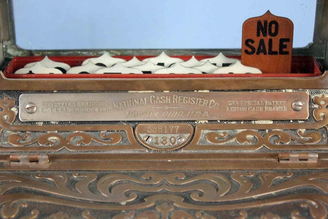 Brass National Cash Register Mo. 130, Candy/Barber - 3