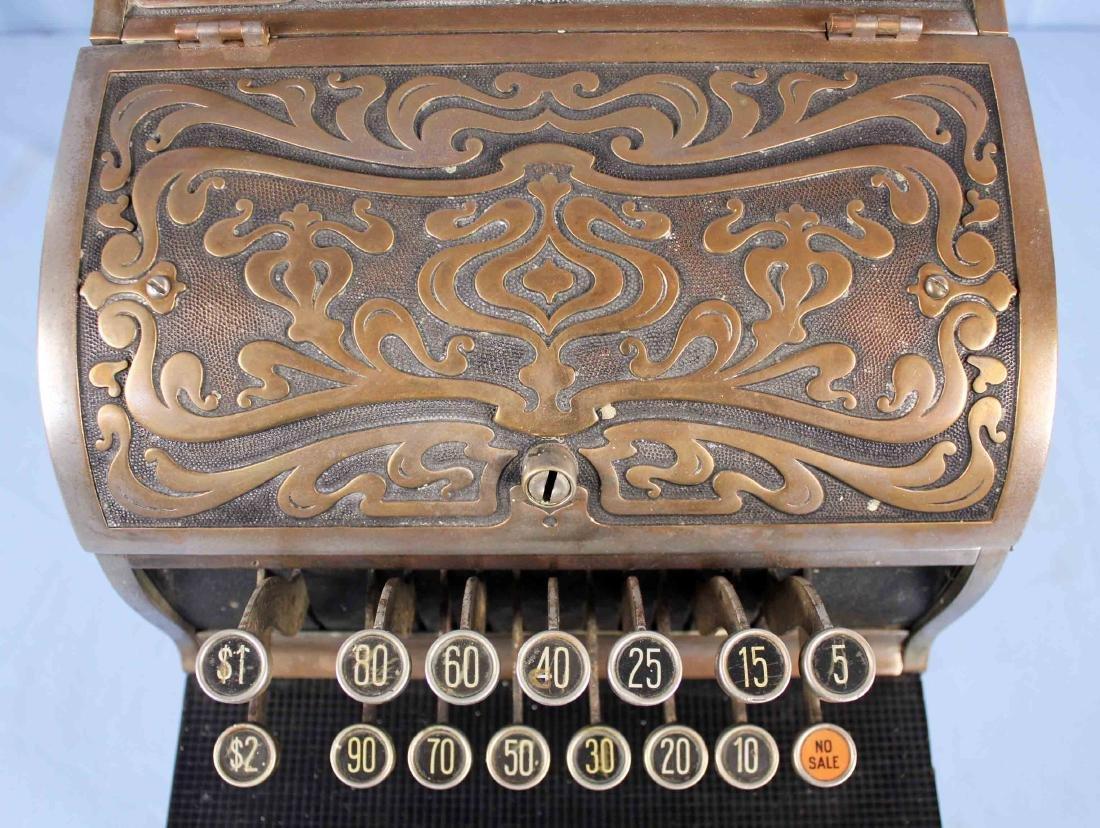 Brass National Cash Register Mo. 130, Candy/Barber - 4