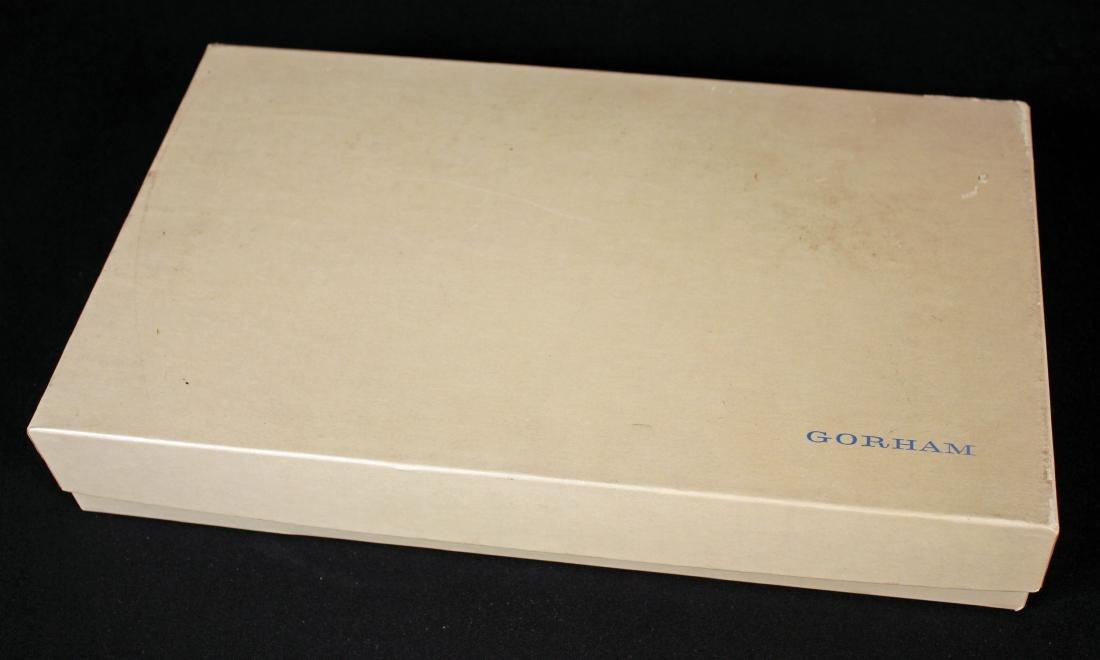 Gorham Sterling Silver Vanity Set w/ Mirror, Brush - 5