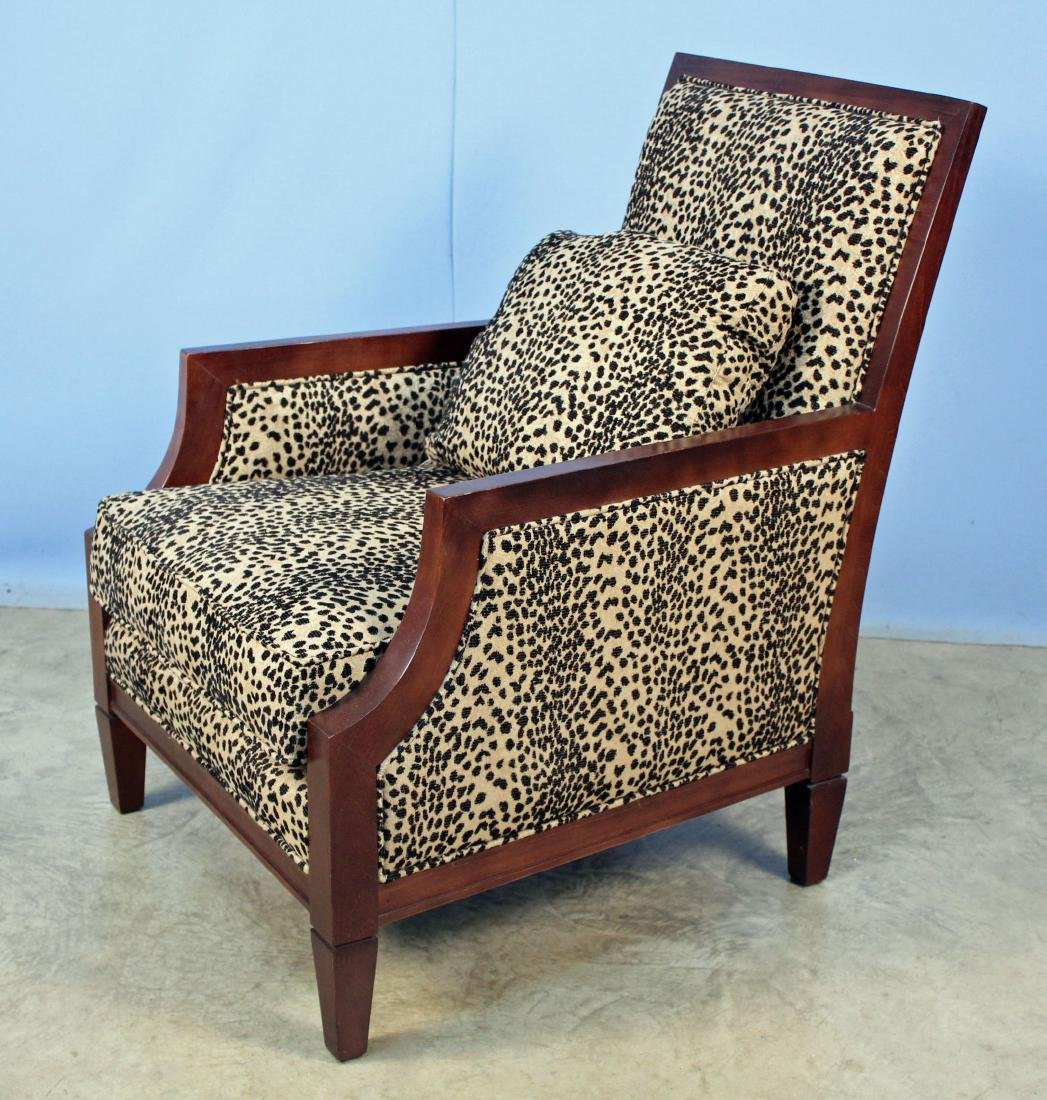 Pair Sam Moore French Moderne Living Room Chairs - 2